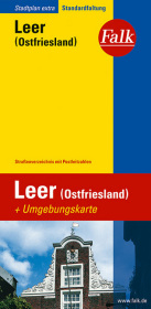 Falk Stadtplan Extra Standardfaltung Leer