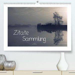 Zitate - Sammlung (Premium, hochwertiger DIN A2 Wandkalender 202