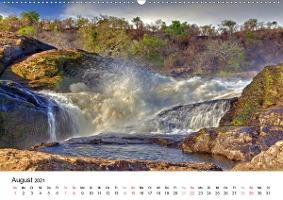 Uganda - die Perle Afrikas (Wandkalender 2021 DIN A2 quer)