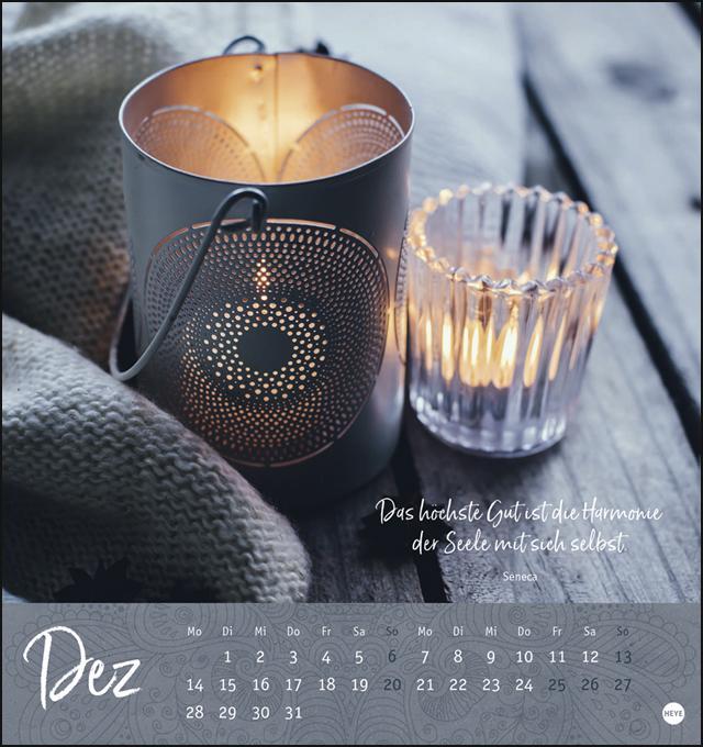 Ich wünsch dir ... Achtsamkeit Postkartenkalender Kalender 2020