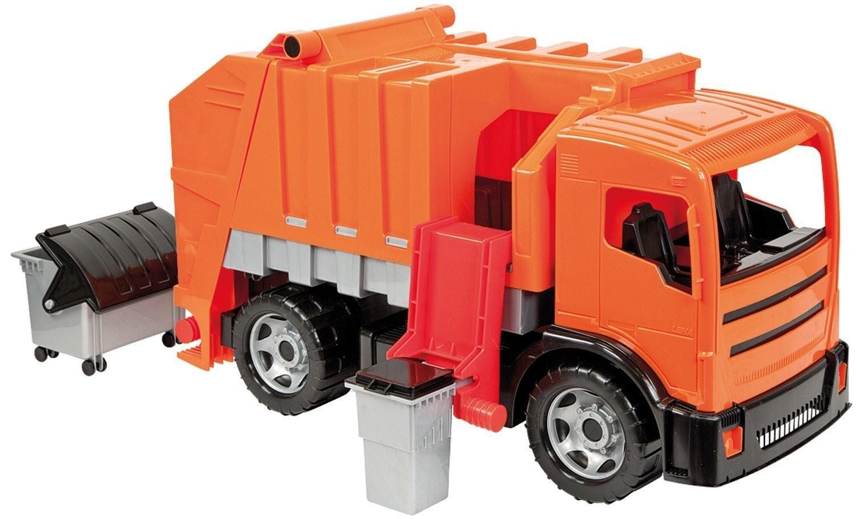 Lena 02166 - Müllwagen, orange, mit 2 Achsen