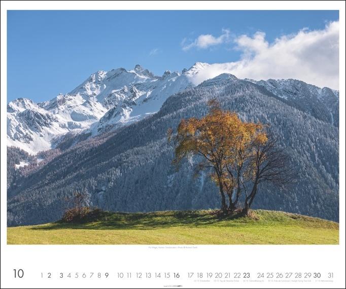Die Schweiz Kalender 2022