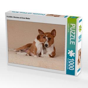 CALVENDO Puzzle FAJANA 4 Wochen mit ihrer Mutter 1000 Teile Puzz