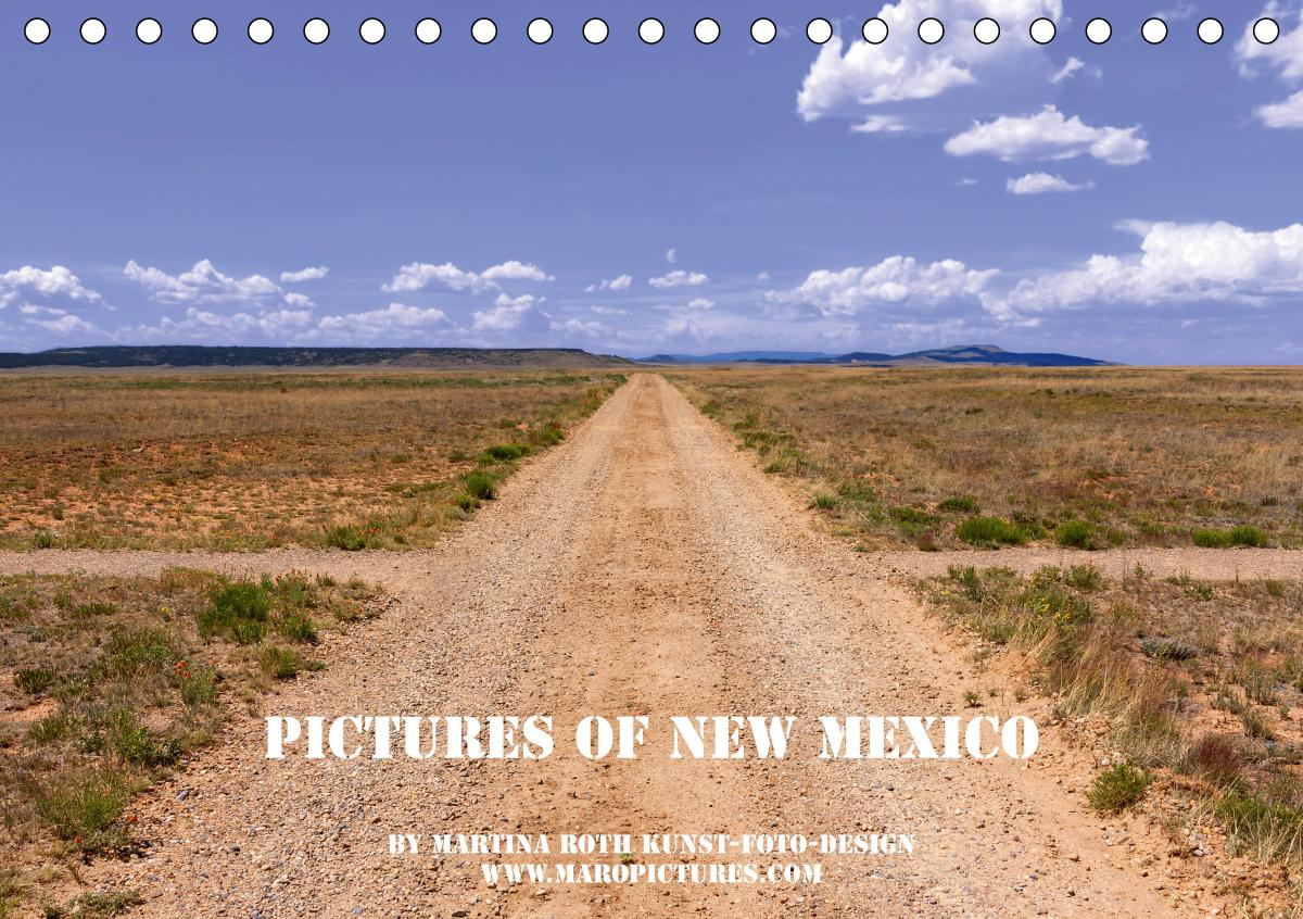 Pictures of New Mexico (Tischkalender 2021 DIN A5 quer)