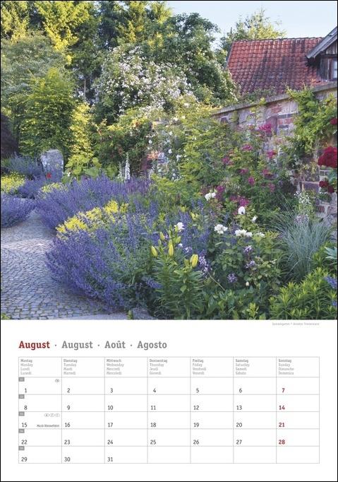 Gartenzauber Kalender 2022