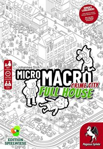 MicroMacro: Crime City 2 ? Full House (Edition Spielwiese)