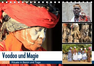 Voodoo und Magie (Tischkalender 2021 DIN A5 quer)
