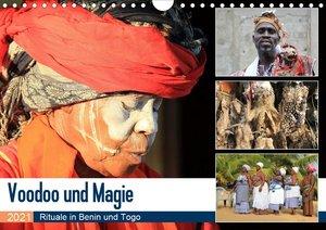 Voodoo und Magie (Wandkalender 2021 DIN A4 quer)
