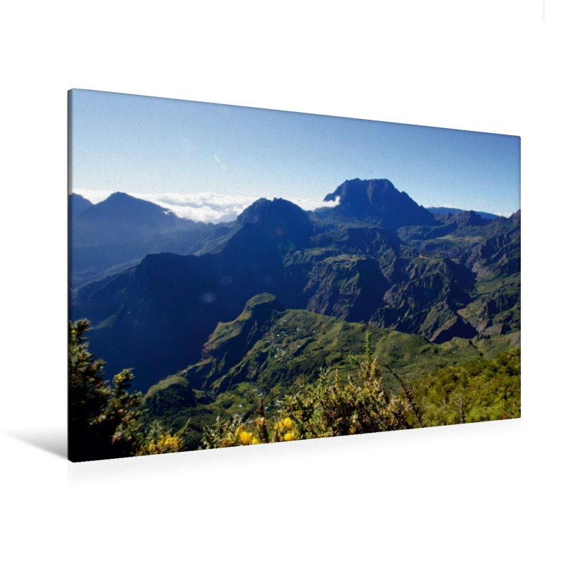 Premium Textil-Leinwand 120 cm x 80 cm quer Aussichtspunkt Le Ma