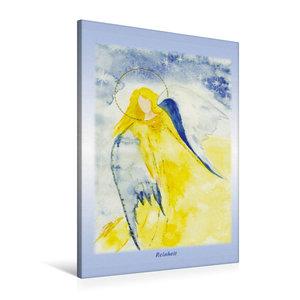 Premium Textil-Leinwand 60 cm x 90 cm hoch Ein Motiv aus dem Posterbuch ENGEL - Lichtboten f?r die Seele