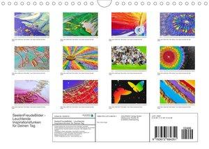 SeelenFreudeBilder - Leuchtende Inspirationsfunken für Deinen Tag (Wandkalender 2022 DIN A4 quer)