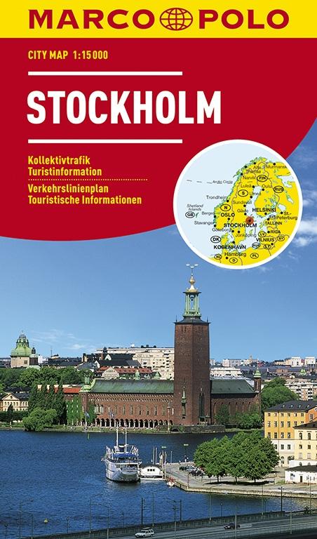 MARCO POLO Cityplan Stockholm 1 : 15.000