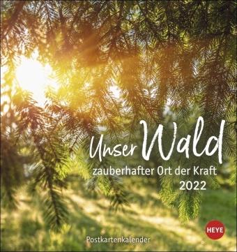 Unser Wald Postkartenkalender 2022