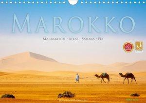 Marokko: Marrakesch, Atlas, Sahara, Fès (Wandkalender 2021 DIN A