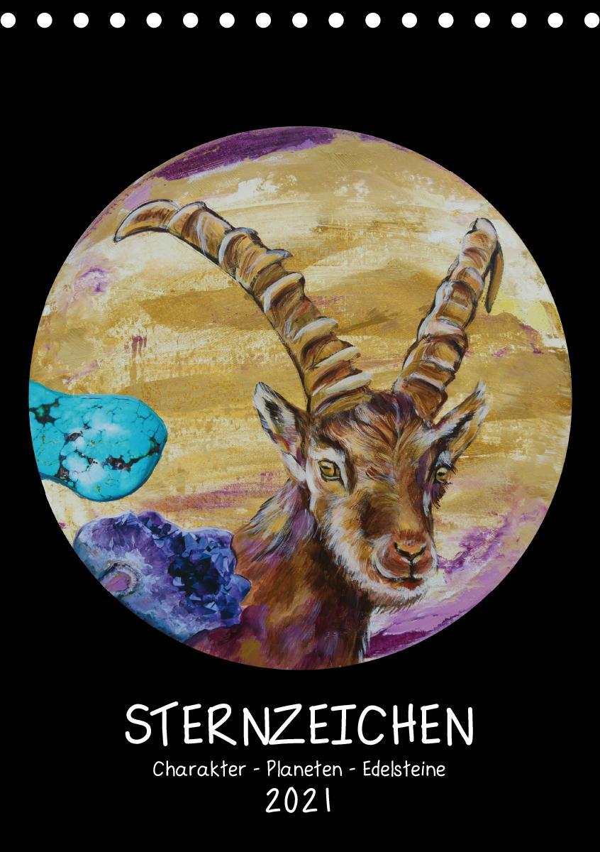 Sternzeichen - Charakter - Planeten - Edelsteine (Tischkalender