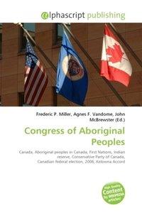 Congress of Aboriginal Peoples