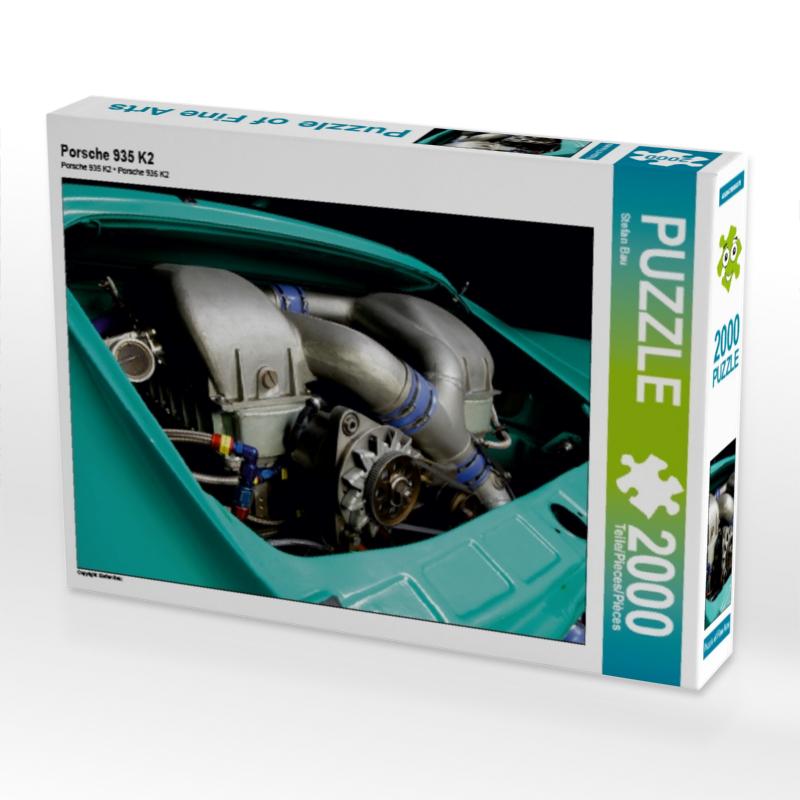Porsche 935 K2 2000 Teile Puzzle quer