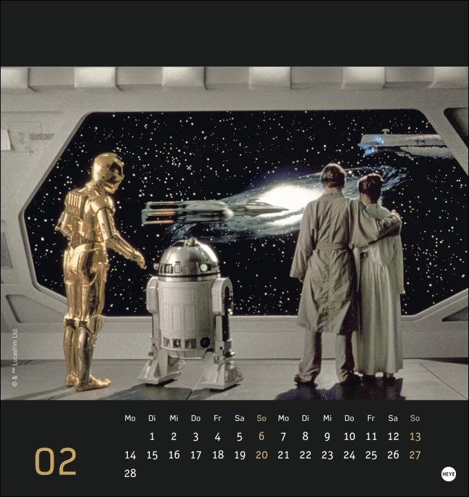 Star Wars Postkartenkalender 2022