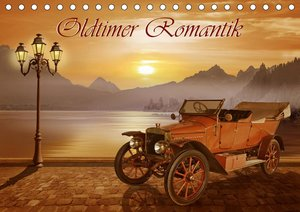 Oldtimer Romantik (Tischkalender 2021 DIN A5 quer)