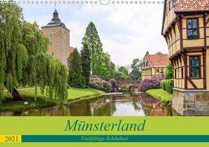 Münsterland - Vielfältige Schönheit (Wandkalender 2021 DIN A3 qu