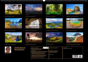 Südseetraum Neuseeland (Wandkalender 2022 DIN A2 quer)