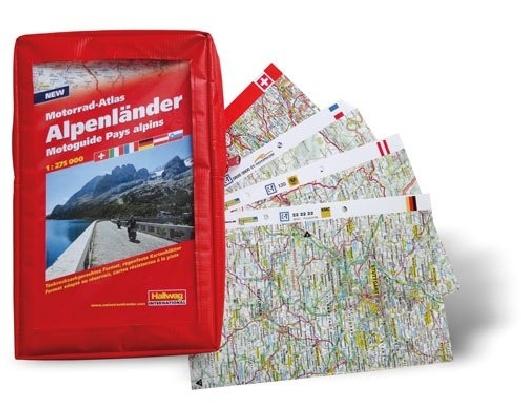 Motorrad-Atlas Alpenländer 1 : 275 000