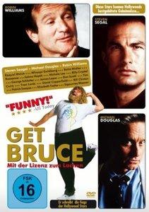 Get Bruce - Mit der Lizenz zum Lachen, 1 DVD