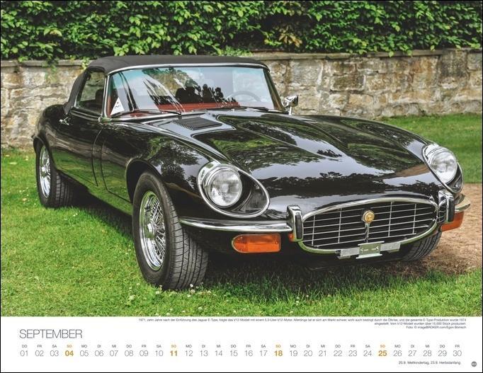 Legendäre Autos Kalender 2022