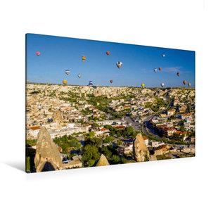 Premium Textil-Leinwand 120 cm x 80 cm quer Ein Motiv aus dem Kalender Türkei - fantastisches Kappadokien