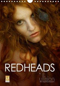 REDHEADS (Wandkalender 2021 DIN A4 hoch)
