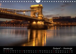 European Nights / UK Version (Wall Calendar 2022 DIN A4 Landscape)
