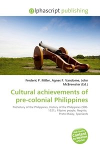 Cultural achievements of pre-colonial Philippines