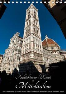 Architektur und Kunst in Mittelitalien (Tischkalender 2021 DIN A