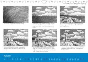 Mal einfach mit ! 12 ausführliche Schritt für Schritt Anleitungen (Wandkalender 2022 DIN A4 quer)