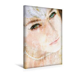 Premium Textil-Leinwand 30 cm x 45 cm hoch Portrait einer Wasser