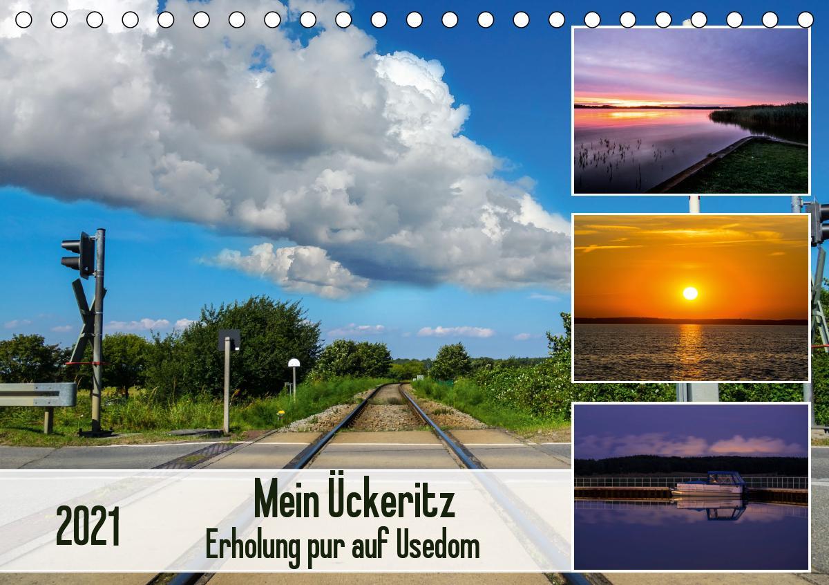 Mein Ückeritz - Erholung pur auf Usedom (Tischkalender 2021 DIN