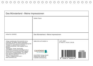 Das Münsterland - Meine Impressionen (Tischkalender 2022 DIN A5 quer)