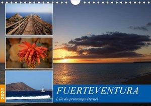 Fuerteventura, l\'île du printemps éternel (Calendrier mural 202