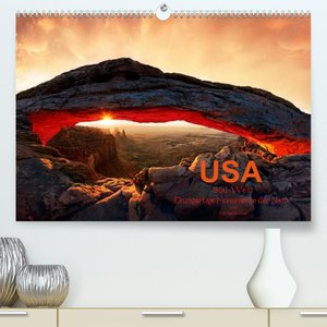 USA S?d-West (Premium, hochwertiger DIN A2 Wandkalender 2022, Kunstdruck in Hochglanz)