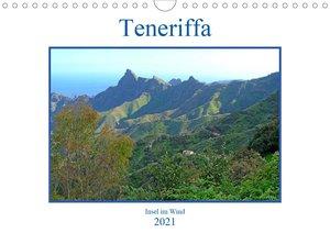 Teneriffa - Insel im Wind (Wandkalender 2021 DIN A4 quer)