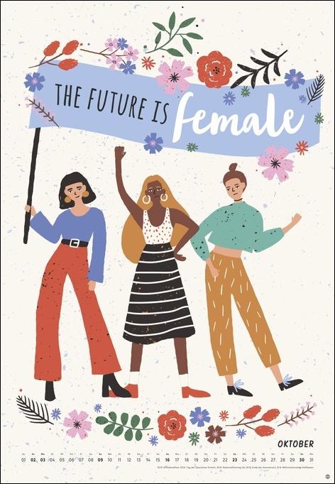 Girl Power Posterkalender 2022
