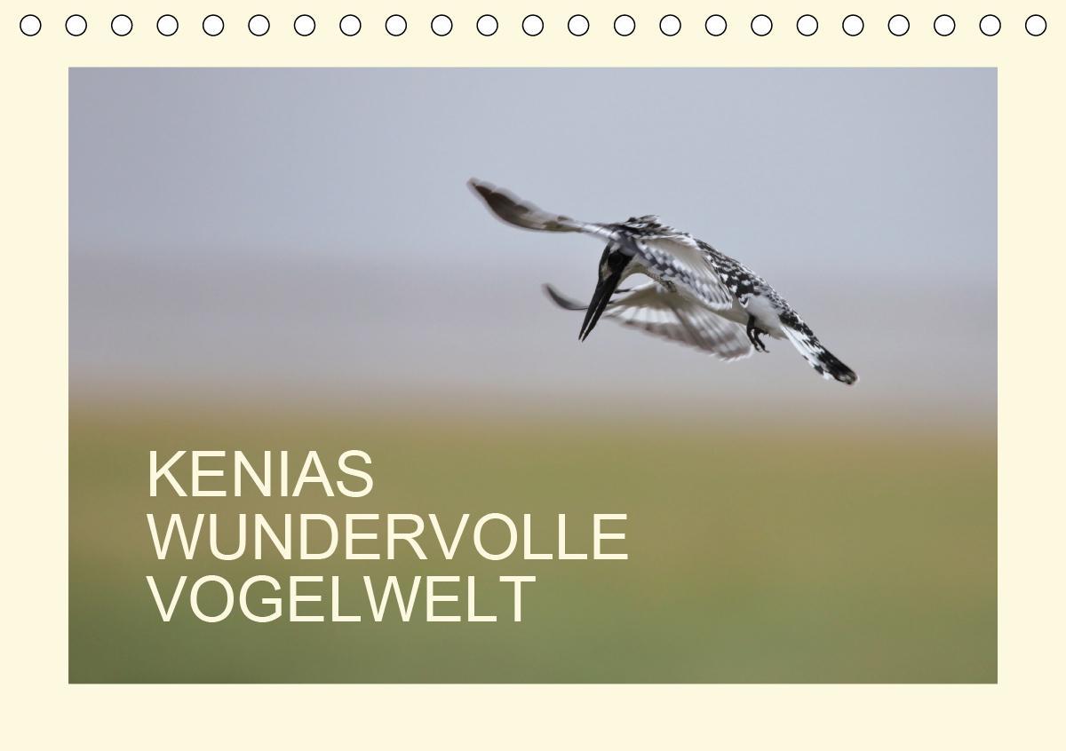 Kenias wundervolle Vogelwelt (Tischkalender 2021 DIN A5 quer)