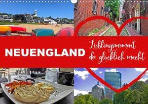 Neuengland USA Kalender 2021 (Wandkalender 2021 DIN A3 quer)