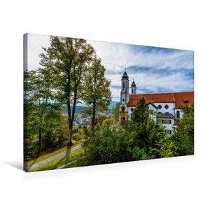 Premium Textil-Leinwand 75 cm x 50 cm quer Kalvarienbergkirche
