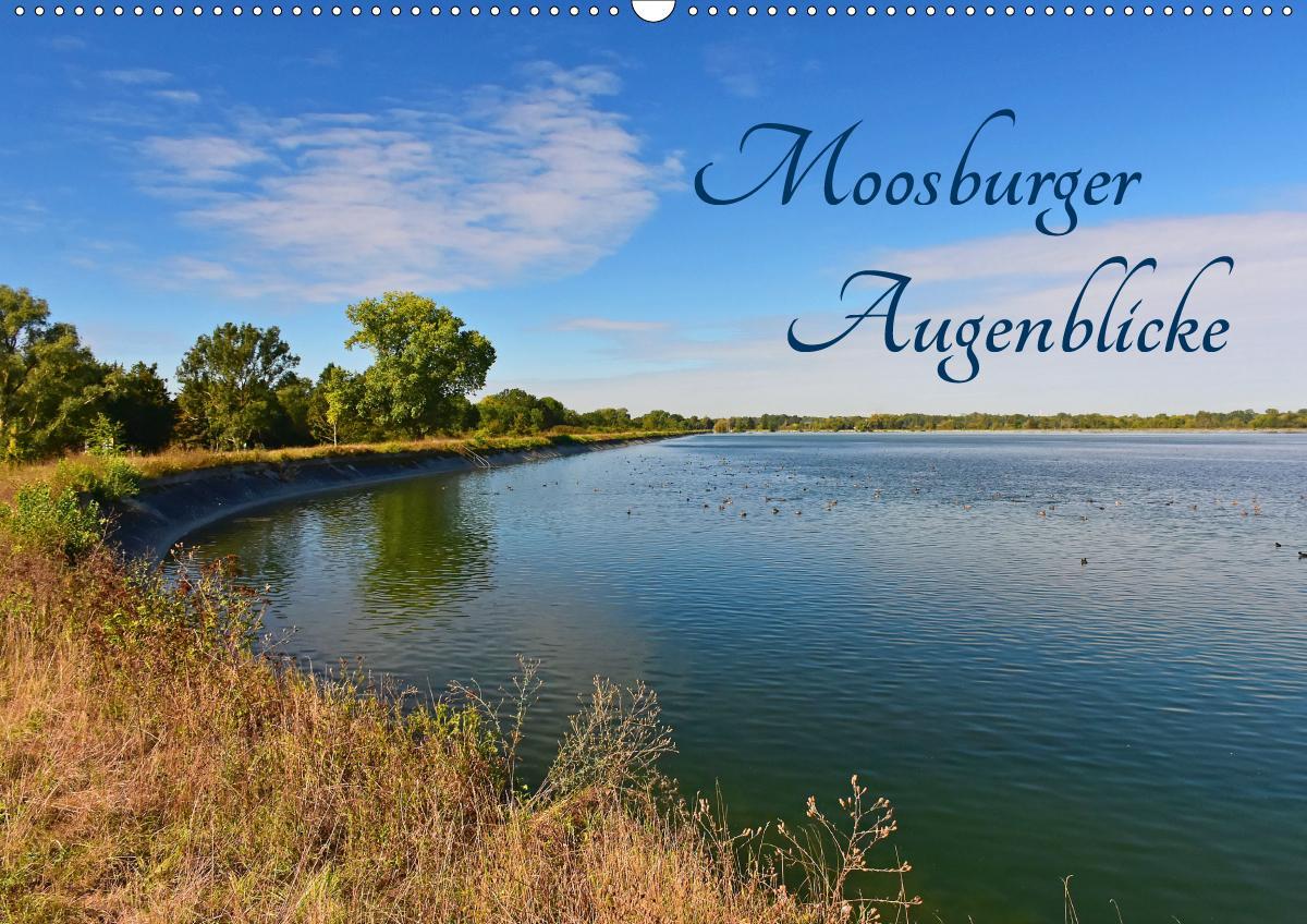 Moosburger Augenblicke (Wandkalender 2021 DIN A2 quer)