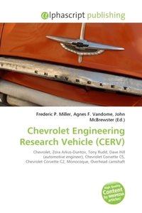 Chevrolet Engineering Research Vehicle (CERV)