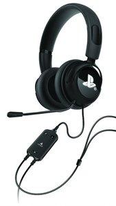 VENOM - Vibration Stereo Gaming Headset, Kopfhörer mit Mikrofon, für PS3/PS4, schwarz (OFFICIALLY LICENSED)