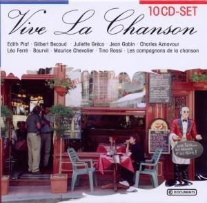 Vive La Chanson, 10 Audio-CDs