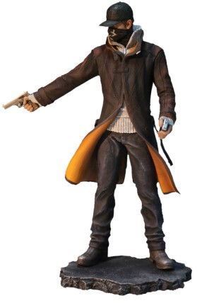 Watch Dogs Figur Aiden-Pearce (UBICollectibles)