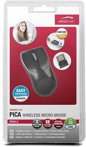 PICA Wireless Micro Mouse, schwarz